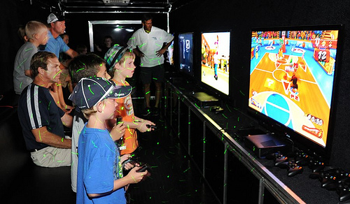 Video Game Truck Party in Battle Creek and Kalamazoo MI