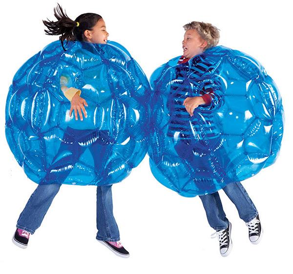 Bumper Balls Are Fun For All Ages